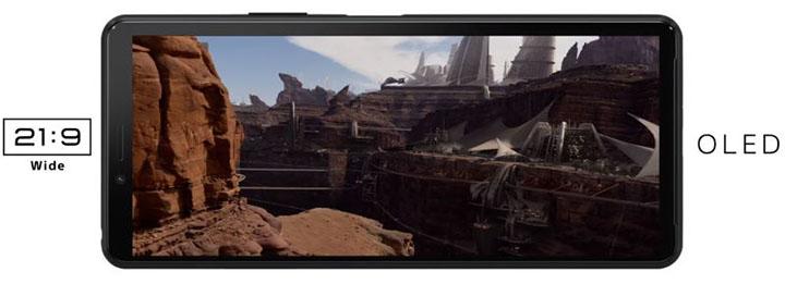 Màn hình OLED của Sony Xperia 10 II cho trải nghiệm đã hơn, sống động hơn