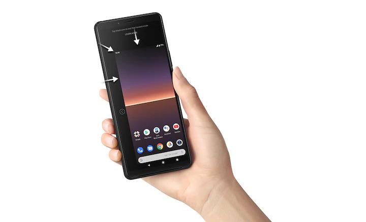 Cầm Sony Xperia 10 II bằng một tay tiện lợi