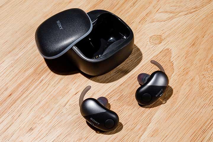 Cài đặt âm thanh trên tai nghe không dây chống ồnSony WF-SP700N tiện lợi hơn với ứng dụng Sony Headphones Connect