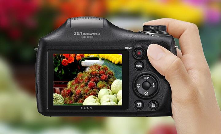 Màn hình LCD 3.0 inches chuyên nghiệp