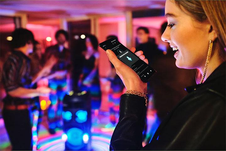 Ứng dụng Fiestable cho phép bạn kiểm soát âm thanh bữa tiệc và tự do thêm âm thanh yêu thích