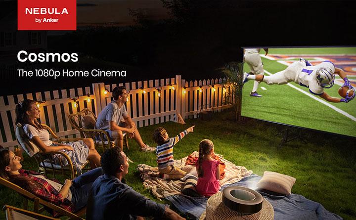 Tận hưởng thế giới giải trí ngay tại chính căn nhà của bạn cùng máy chiếu Anker Nebula Cosmos 1080p