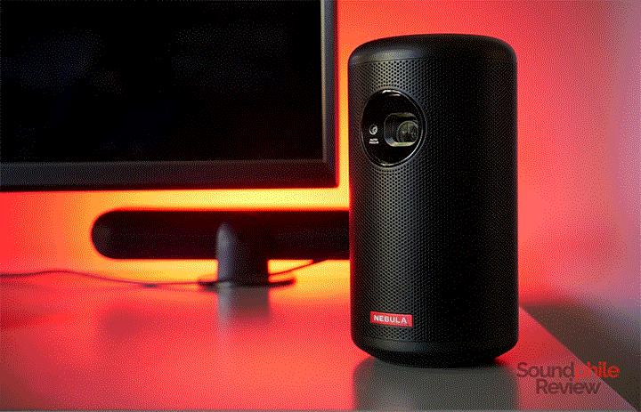 Máy chiếu mini Anker Nebula Capsule Max hỗ trợ thêm loa 8W