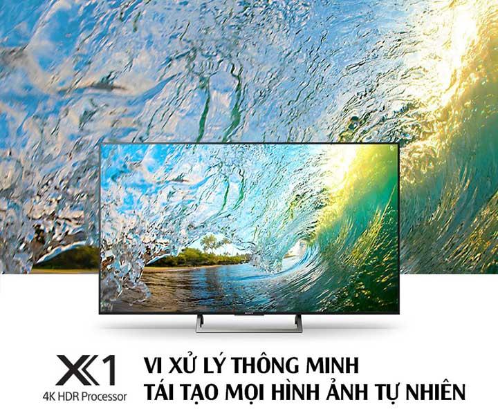 Bộ xử lý 4K HDR X1 tăng chất lượng hình ảnh