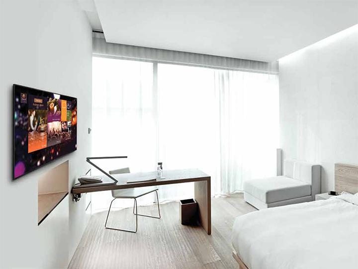Các loại màn hình chuyên dụng tại Logico tương thích hoàn toàn với các giải pháp Hotel Tivi