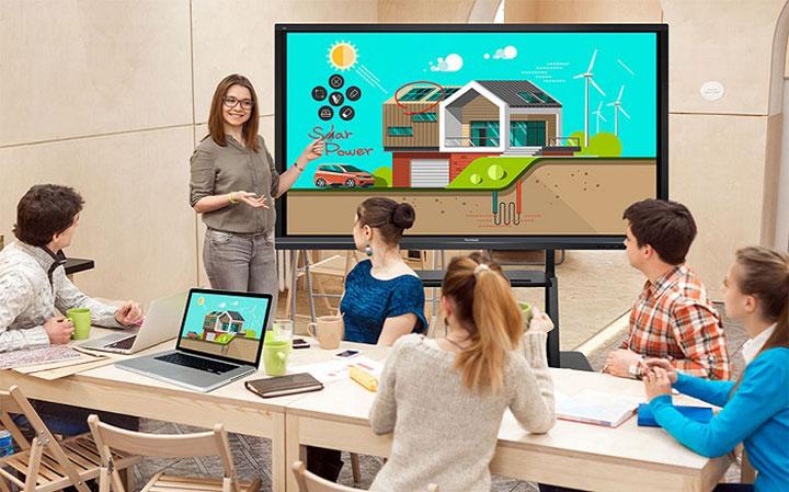 Màn hình tương tác Philips 86BDL4152T trở thành bảng dạy học sáng tạo