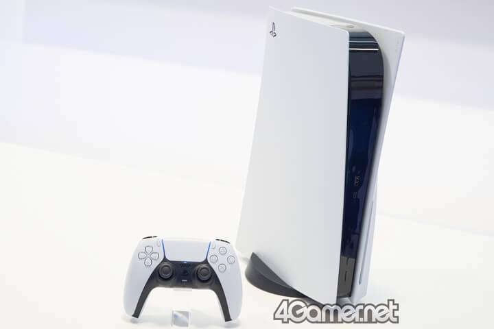 Ảnh thực tế PlayStation 5. Ảnh: 4Gamer.