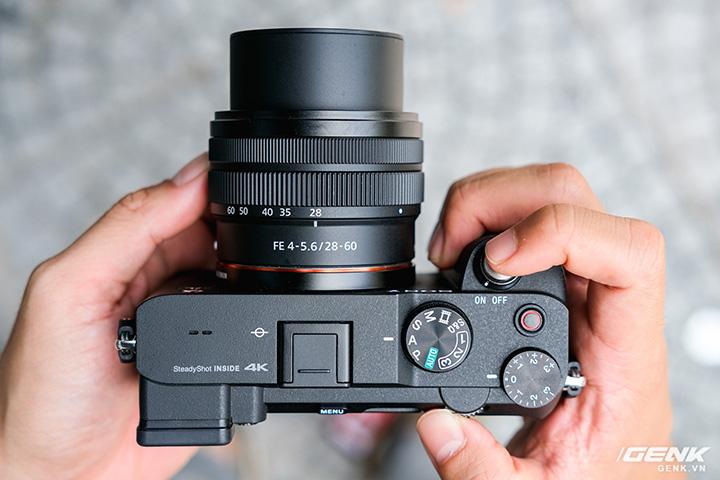 Sony A7C trang bị thêm công nghệ ổn định hình ảnh SteadyShot Inside