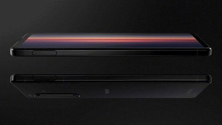 Cảm biến vân tay được thiết kế bên cạnh viền điện thoại Xperia 1 II