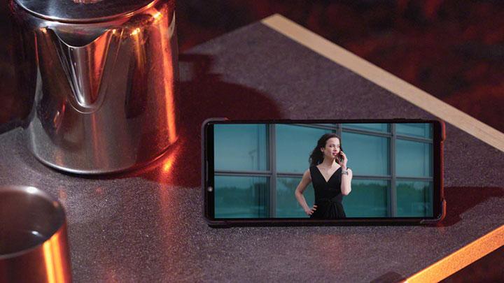 Tần số quét trên Sony Xperia 1 II đạt 60Hz