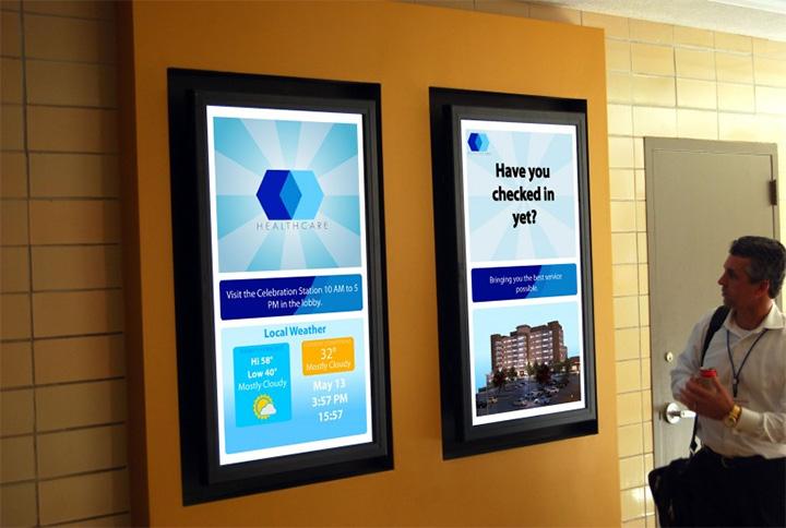 Các ứng dụng hiển thị của màn hình chuyên dụng