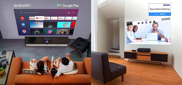 Epson chính thức ra mắt sản phẩm máy chiếu Epiqvision mới – nâng tầm giải trí tại gia