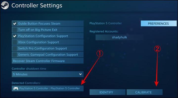 Tin vui dành cho các game thủ, Ứng dụng Steam hỗ trợ bộ điều khiển DualSense của PS5