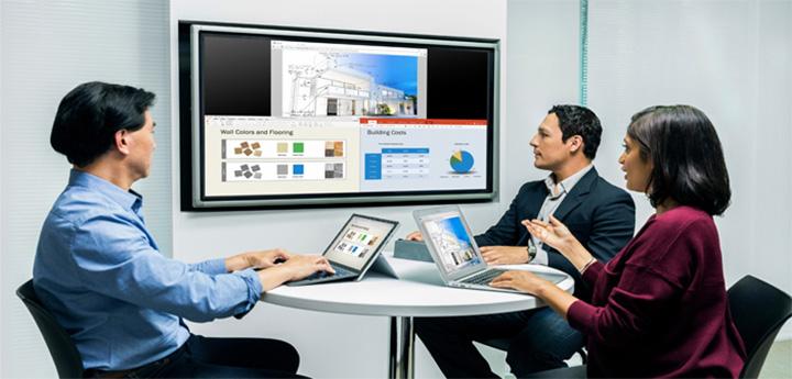 Giải pháp về Hạ tầng cộng tác và Nội dung của Polycom