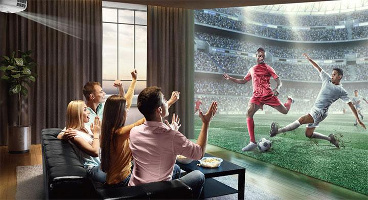 Top máy chiếu xem bóng đá cho mùa Euro 2020