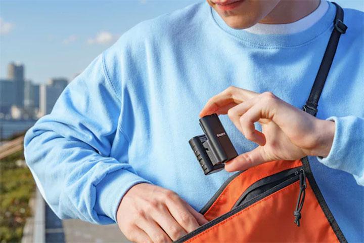 Micro thu âm không dây Sony ECM-W2BT
