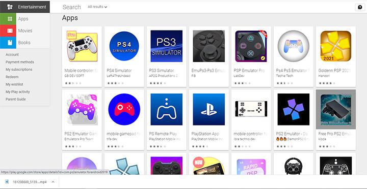 Đừng để bị lừa!!! Trình giả lập PS3 hay PS4 trên Google Play là điều không thể