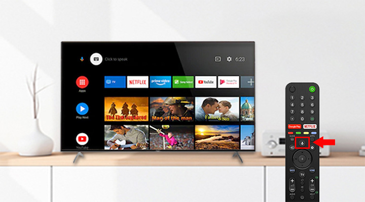Android Tivi Sony Bravia 4K 55 inch KD-55X9000H