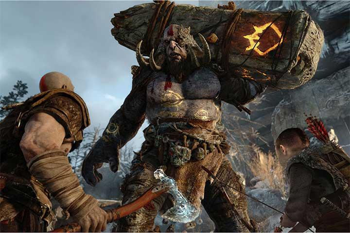Đĩa Game PlayStation PS4 God Of War 4