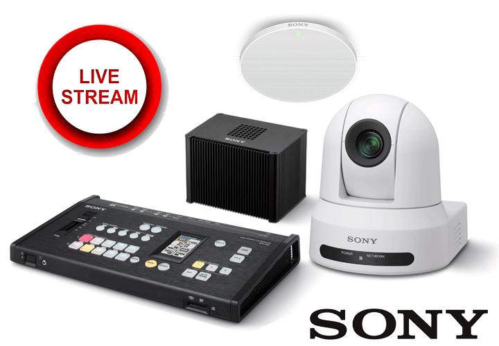 Giải pháp Live Stream chuyên nghiệp từ Sony