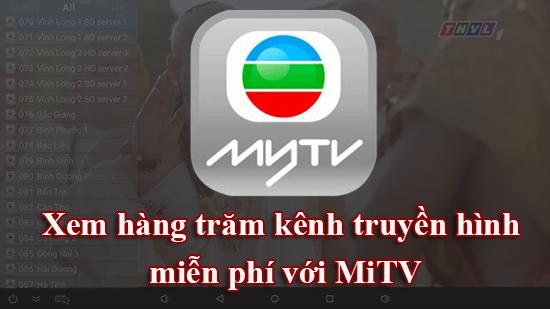 cách cài đặt ứng dụng MITV cho điện thoại Android