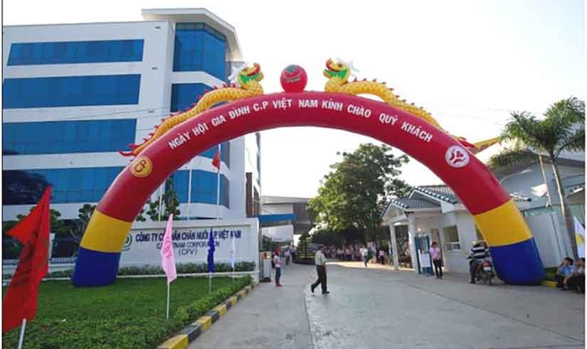 Lắp đặt hệ thống trình chiếu cho công ty cổ phần chăn nuôi CP Việt Nam