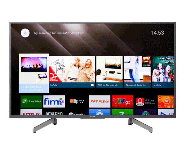 Android Tivi Sony Bravia 4K 43 inch KD-43X8000G
