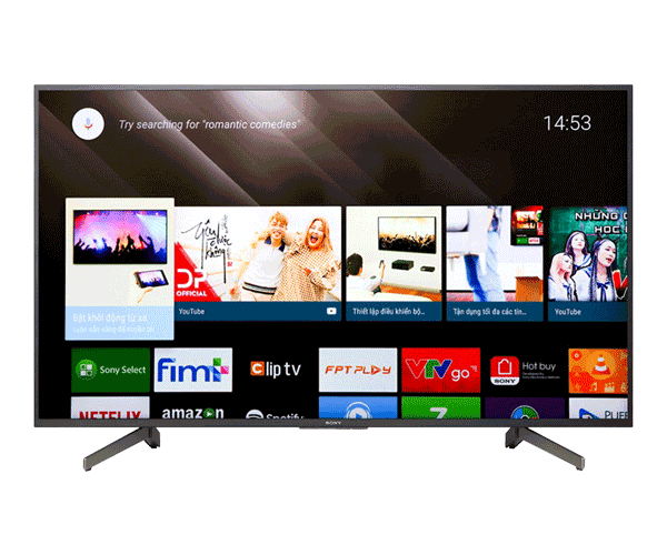 Android Tivi Sony Bravia 4K 55 inch KD-55X8000G
