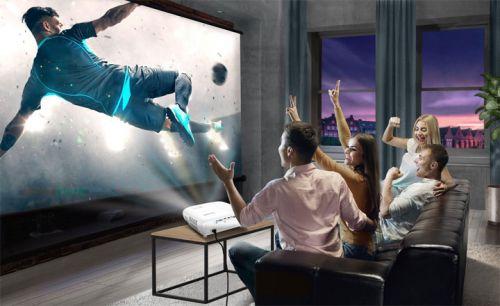Cho thuê máy chiếu xem bóng đá Euro 2021