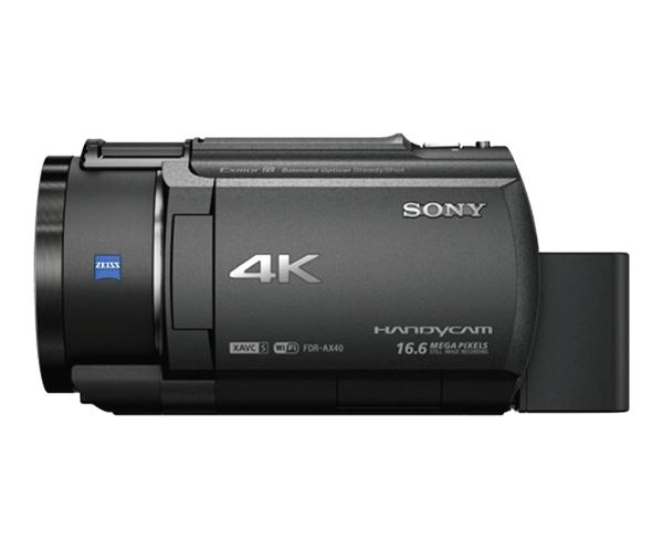 Máy quay phim 4K Sony FDR-AX40