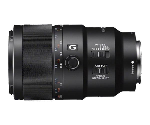 Ống len Fix Full Frame Macro chống rung Sony G 90mm F2.8