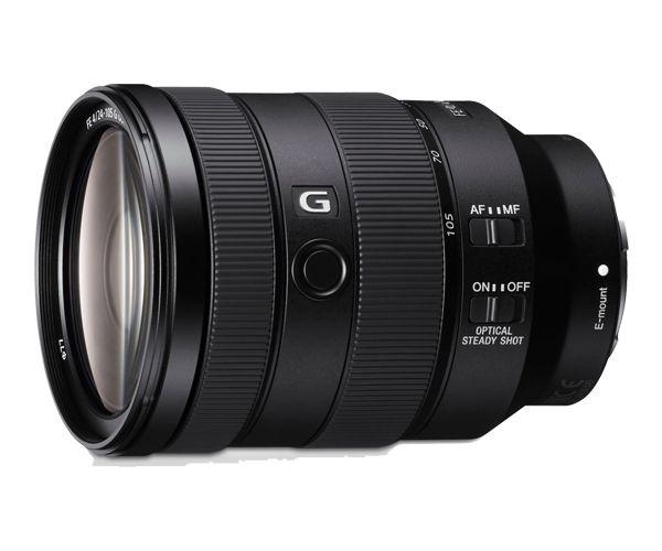 Ống len Zoom Full Frame chống rung Sony G 24-105mm F4.0
