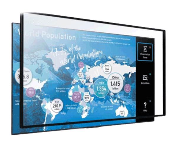 Màn hình tương tác 85 inch 4K HDR Sony Multi-Touch Overlay