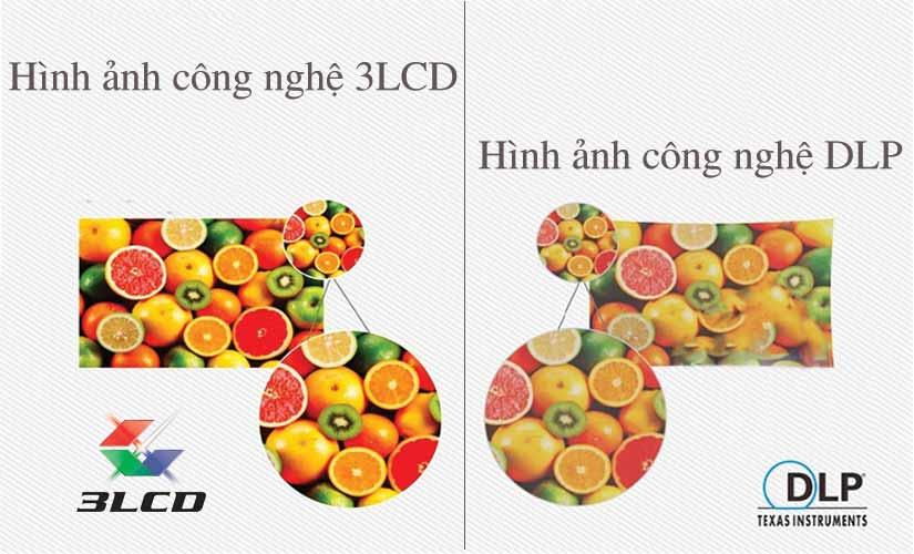 Cuộc chiến giữa Máy chiếu LCD và DLP