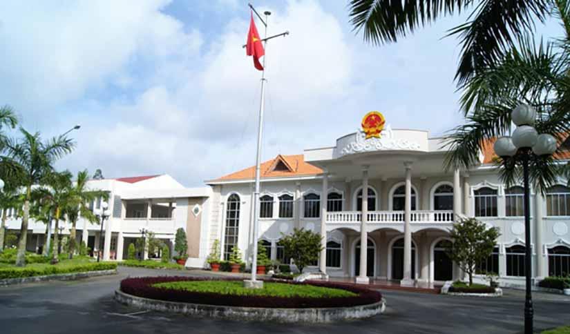 Hội trường điện tử tỉnh Cà Mau