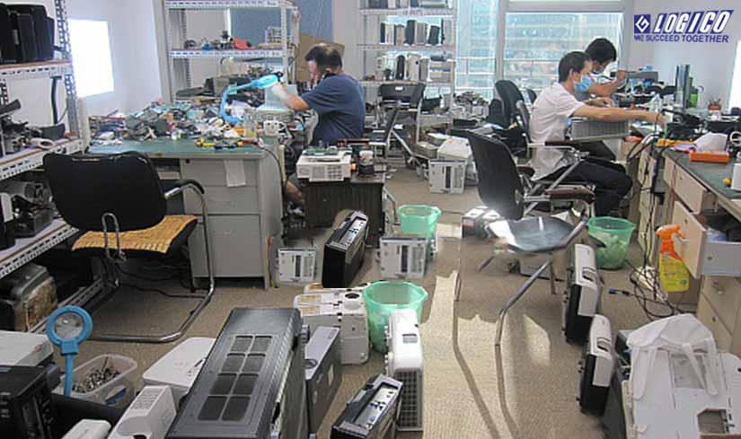 Dịch vụ sửa chữa máy chiếu giá rẻ, bảo hành uy tín, chuyên nghiệp
