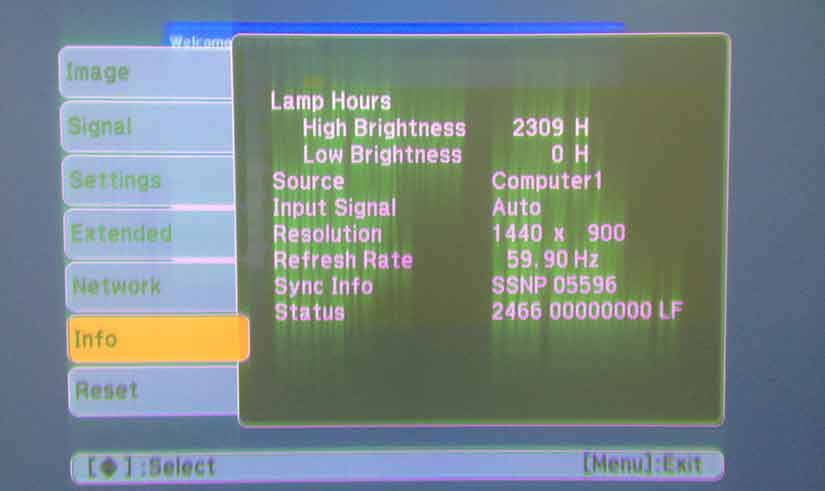 Sửa lỗi máy chiếu bị mờ hình và nhòe chữ