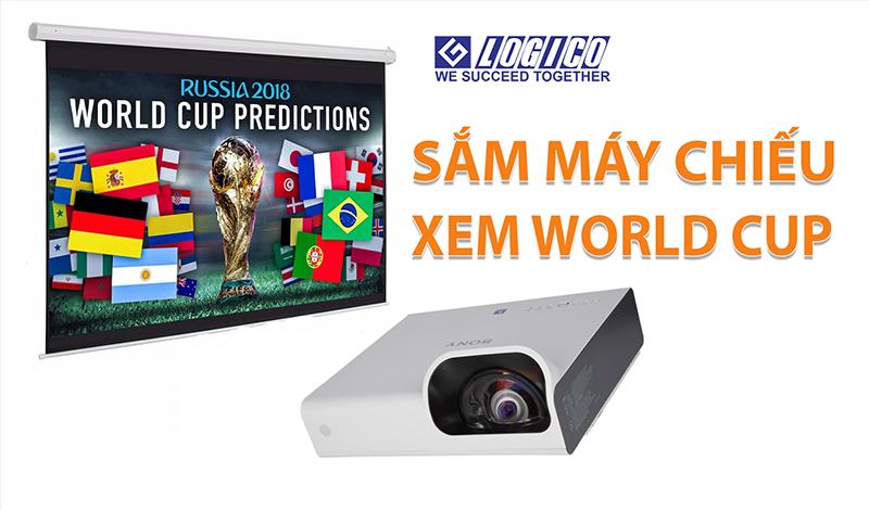 3 máy chiếu xem bóng đá đang mua mùa World Cup 2018