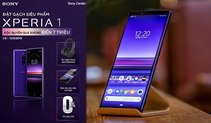 Đặt trước Sony Xperia 1 nhận quà độc quyền hơn 7 triệu đồng chỉ có tại Sony Center
