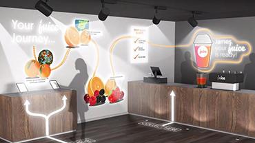 Giải pháp trình chiếu cho Cửa hàng bán lẻ, Khách sạn, Bar, Nhà hàng