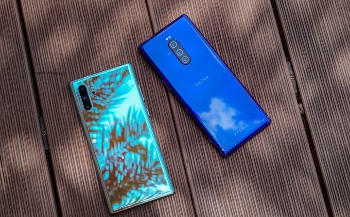 Sony Xperia 1 đọ dáng cùng Samsung Galaxy Note10