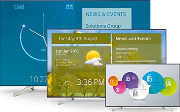 Giải pháp Digital Signage đến từ Sony Professional Bravia