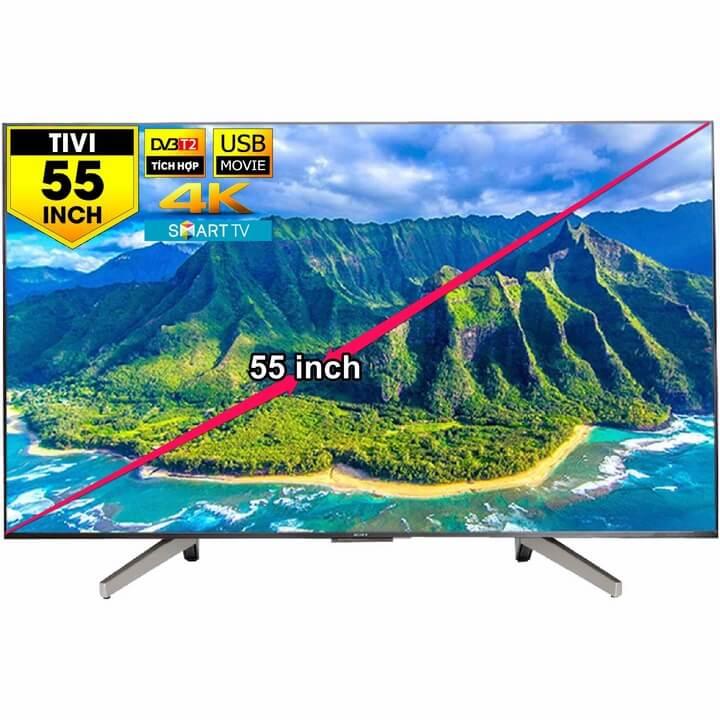 Gợi ý những mẫu tivi Sony 55 inch đáng mua nhất hiện nay