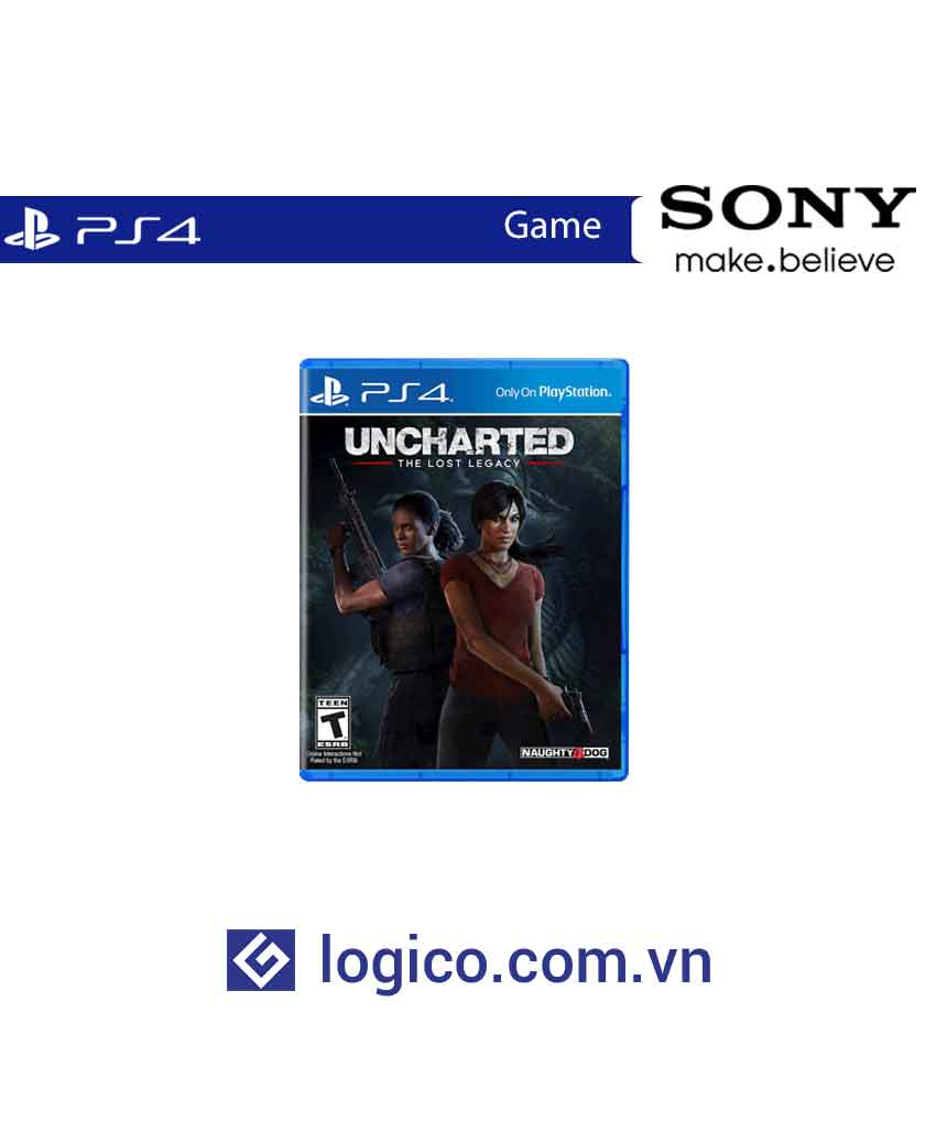 Đĩa game PlayStation 4 Uncharted: The Lost Legacy
