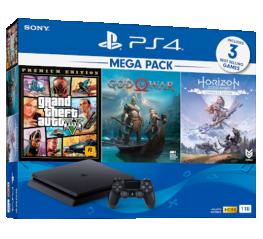 Bộ máy chơi game PlayStation 4  Slim 1TB Mega Pack 2