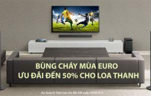 BÙNG CHÁY MÙA EURO CÙNG ƯU ĐÃI ĐẾN 50% CHO LOA THANH
