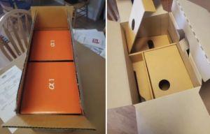 Chiếc hộp các-ton có giá bán đắt nhất Thế giới.