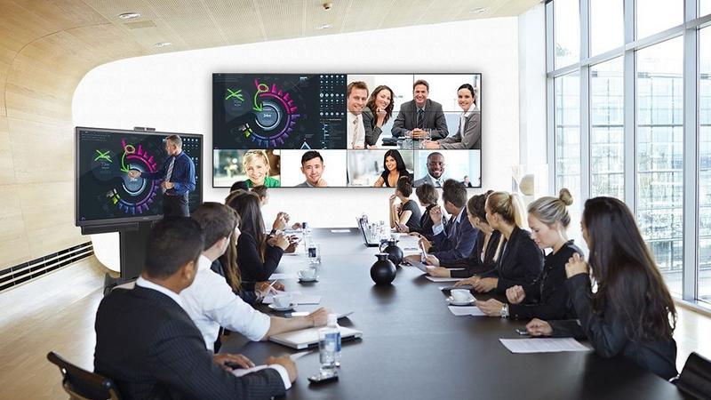 Giải pháp trình chiếu đa khung hình Sony Vision Presentor