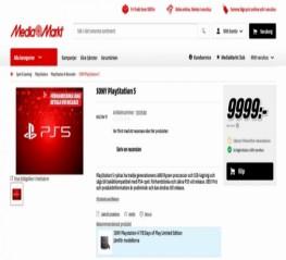 PlayStation 5 (PS5) đã cho đặt trước tại một nhà bán lẻ Thụy Điển