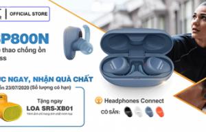 [PRE-ORDER] : Đặt Trước Tai Nghe Thể Thao Chống Ồn Truly Wireless Sony WF-SP800N Nhận Quà Chất